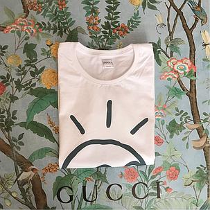 GUCCI. Женская футболка Gucci. Белый цвет. Хайповая бирка., фото 2
