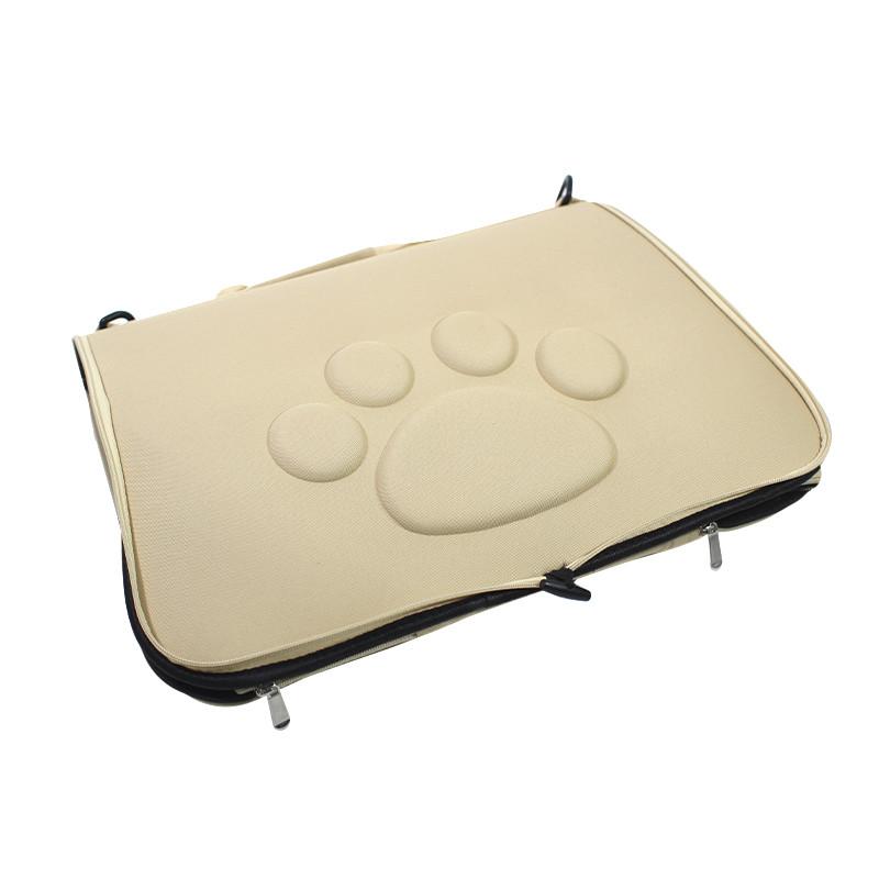 Сумка-переноска для кішок Hoopet 19G0173G Ivory 43*25*26 cm