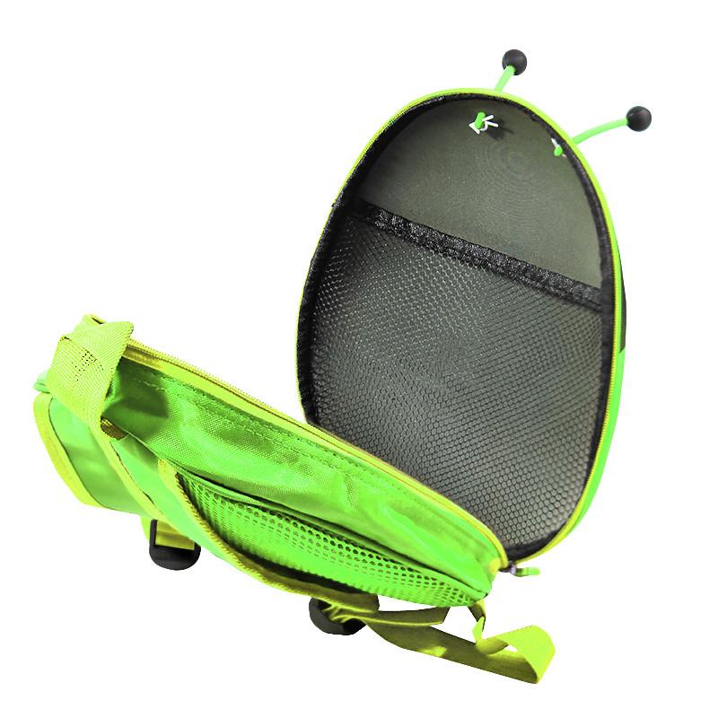 Дитячий рюкзак з твердим корпусом Lesko 229 Ladybug Green
