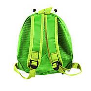Дитячий рюкзак з твердим корпусом Lesko 229 Ladybug Green, фото 3