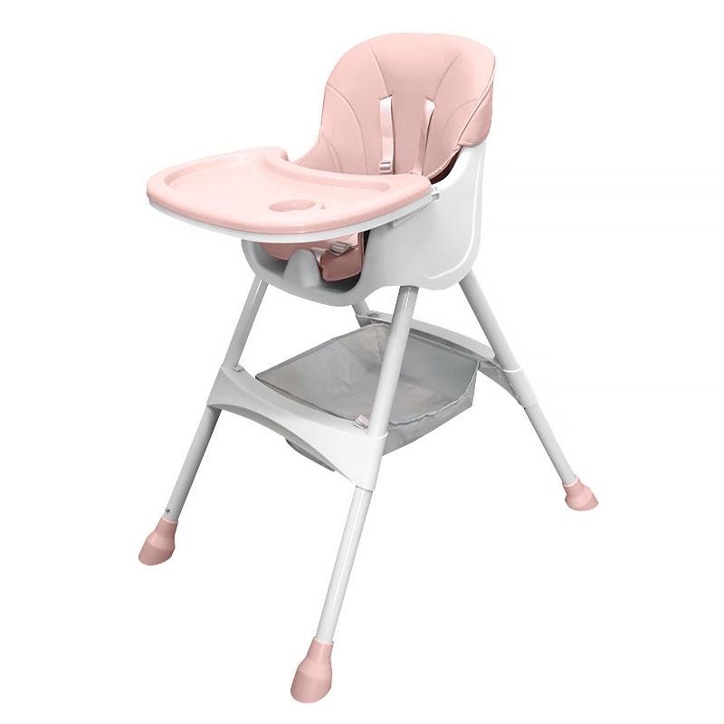 Детский стульчик для кормления Bestbaby BS-508 Pink
