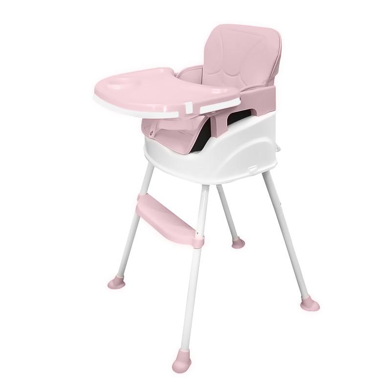 Детский стульчик для кормления Bestbaby BS-8808 Pink