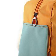 Дитячий рюкзак Lesko 689hy Orange Puppy 20-35L шкільна сумка, фото 4