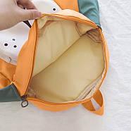 Дитячий рюкзак Lesko 689hy Orange Puppy 20-35L шкільна сумка, фото 5