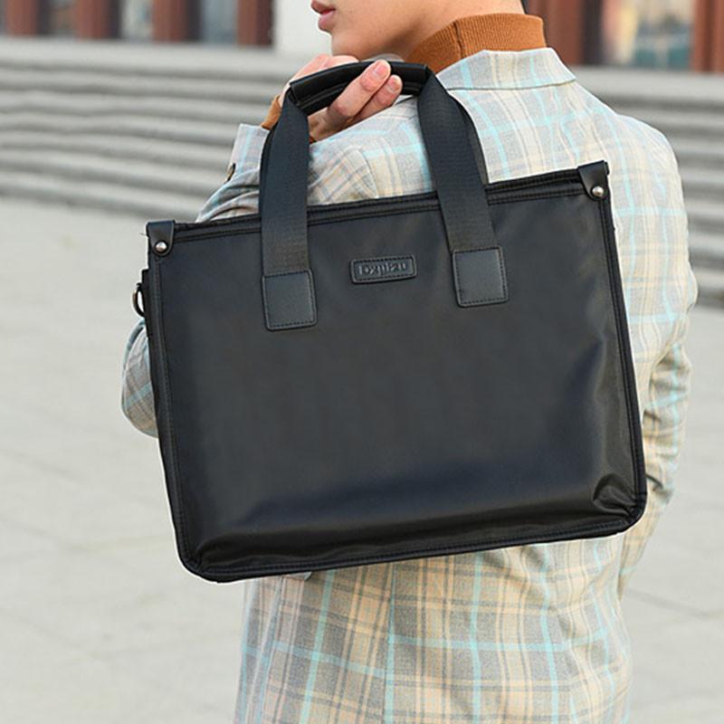 Мужская сумка на одно плечо Dxyizu 343 Black