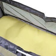 Сумка-рюкзак для мам і ліжечко для малюка Lesko 2 в 1 Gray, фото 9