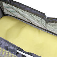 Сумка-рюкзак для мам і ліжечко для малюка Lesko 2 в 1 Aquamarine, фото 10