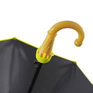 Детский зонт-трость Lesko QY2011301 полуавтомат Little Frog, фото 2