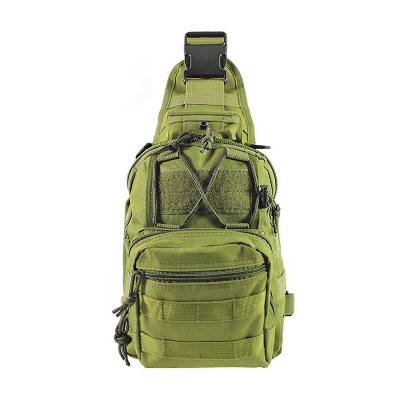 Рюкзак тактичний на одне плече AOKALI Outdoor B14 Green 6L