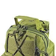 Рюкзак тактичний на одне плече AOKALI Outdoor B14 Green 6L, фото 4