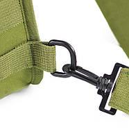 Рюкзак тактичний на одне плече AOKALI Outdoor B14 Green 6L, фото 6