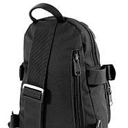 Рюкзак тактический на одно плечо AOKALI Outdoor A31 Black, фото 2