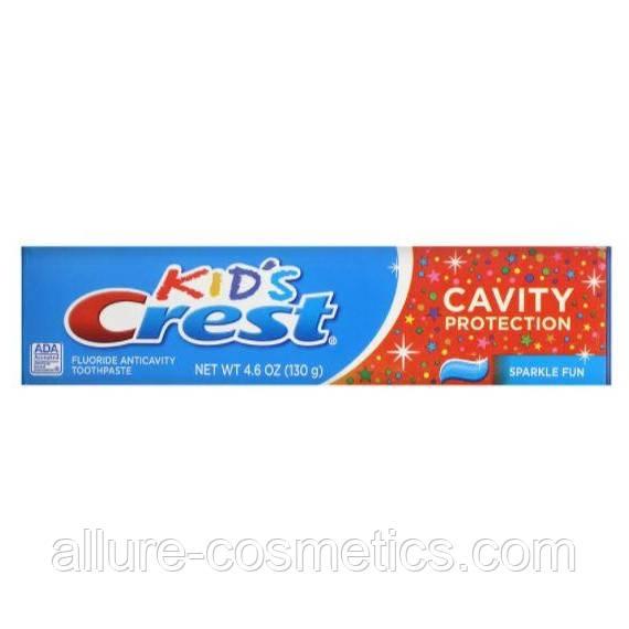 Дитяча зубна паста Crest Kids Cavity Protection Sparkle fun 130гр