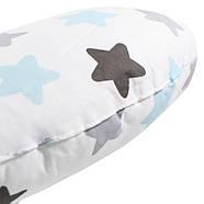 Детская хлопковая подушка Lesko AYBB-002 30*30 см Сердце в звездочку, фото 2