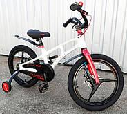"""Дитячий велосипед Crosser Magnesium 2 Bike 18"""" Білий (n-1184), фото 2"""