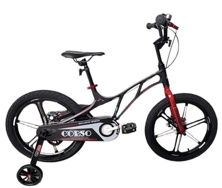 "Велосипед дитячий Corso 18"" Black / Red (n-1162)"