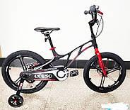 "Велосипед дитячий Corso 18"" Black / Red (n-1162), фото 2"