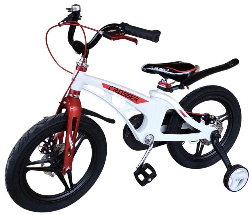 """Детский велосипед Crosser Magnesium 16"""" Белый (n-1163)"""