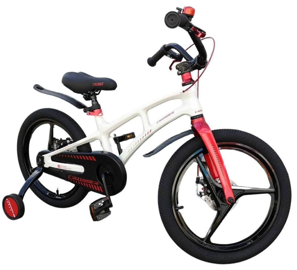"""Детский велосипед Crosser Magnesium 2 Bike 16"""" Белый (n-1166)"""