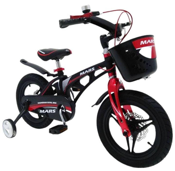 "Велосипед MARS-16 "" Чорний Складаний кермо (n-1176)"
