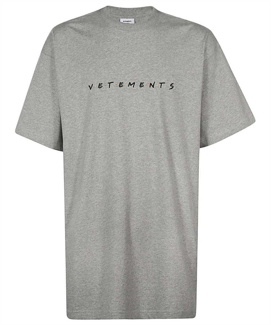 Сіра Футболка Vetements Friends Grey • Ветеменс футболка чоловіча   жіноча   дитяча