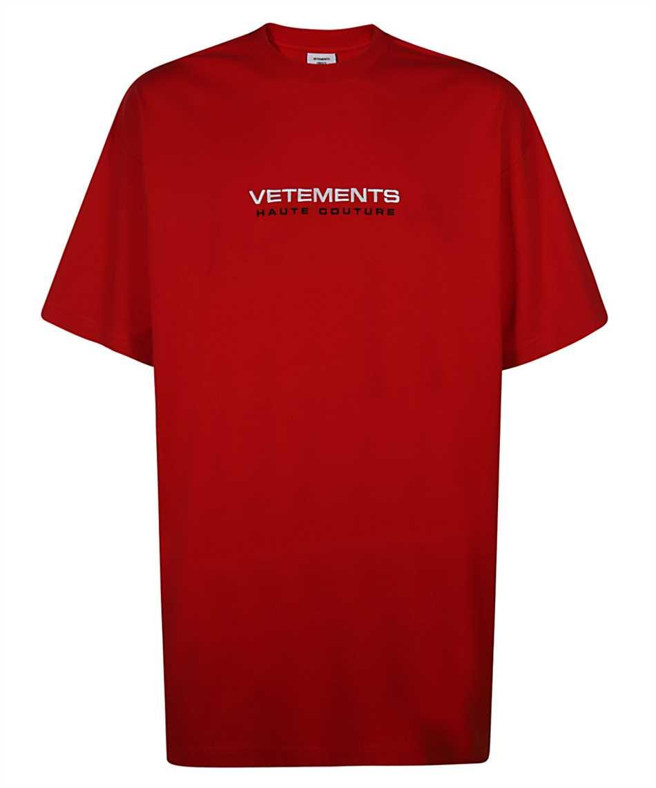 Футболка красная Vetements Red Couture • Ветеменс футболка мужская   женская   детская