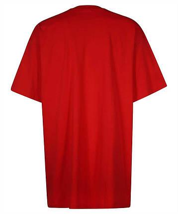 Футболка красная Vetements Red Couture • Ветеменс футболка мужская   женская   детская, фото 2