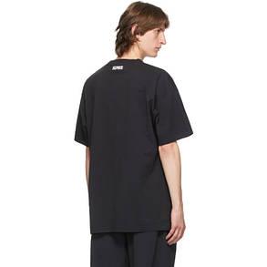 Футболка черная Vetements Tour 21 • Ветеменс футболка мужская   женская   детская, фото 2