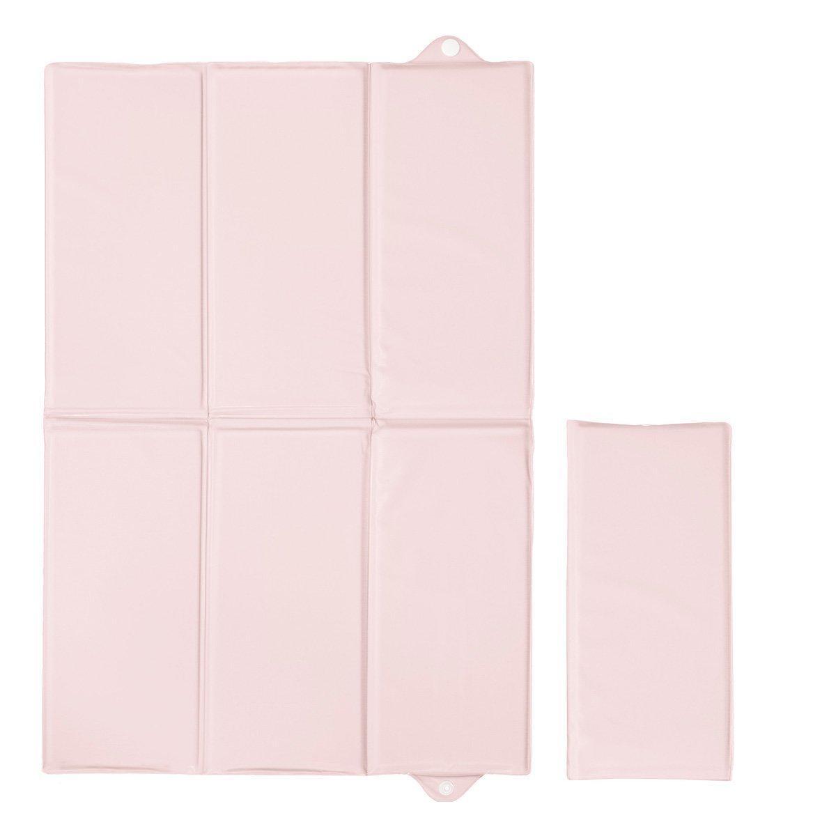Пеленальний матрацик Ceba Baby Pastel складаний Pink 40х60