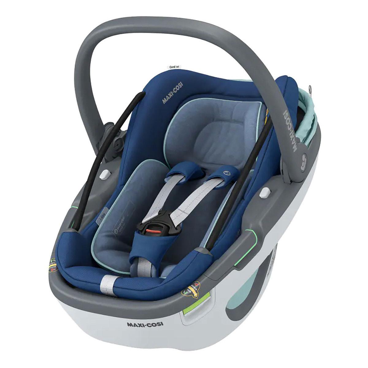 Автокресло Maxi-Cosi Coral 360 Essential Blue 8559720110