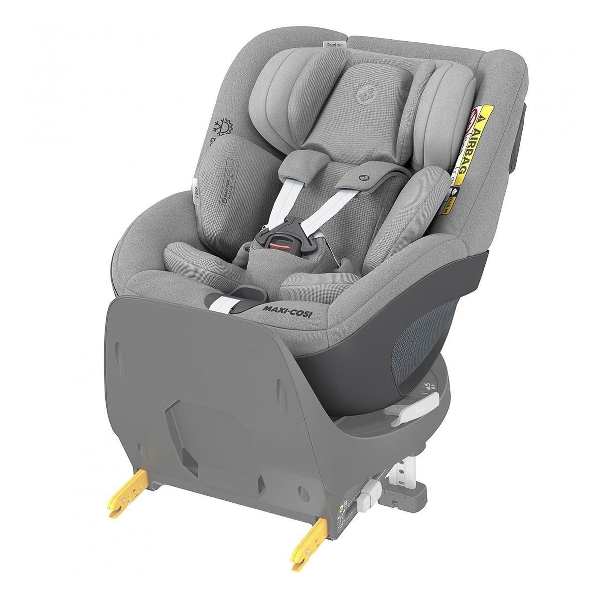 Автокресло Maxi-Cosi Pearl 360 1 Authentic Grey 8045510110