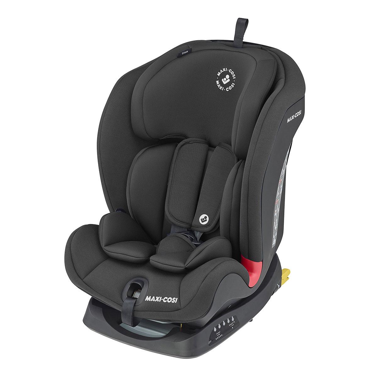 Автокресло Maxi-Cosi Titan 1-2-3 Basic Black 8603870110