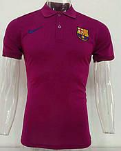 Мужская спортивная футболка поло, с воротником Барселона 2019-20120 сезон