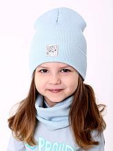 Шапка Чарівниця дитяча для дівчаток 2-6 років