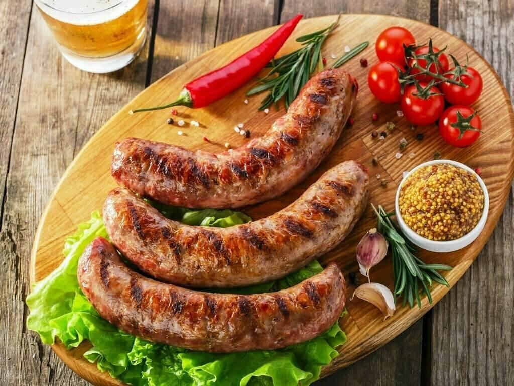 Колбаски гриль 500г