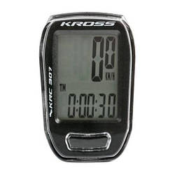 Велокомп'ютер провідний Kross KRC 307, 7 функцій