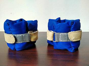 Обтяжувачі-манжети Шкіра (2 x 0.250 кг) (верх-NY, наповнювач-пісок)
