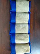 Утяжелители-манжеты Нейлон (2 x 4,5кг) (верх-NY, наполнитель-песок), фото 3