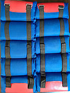 Утяжелители-манжеты Нейлон (2 x 4,5кг) (верх-NY, наполнитель-песок), фото 4
