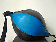 Груша 30х16см боксерська на розтяжках LEV, фото 2