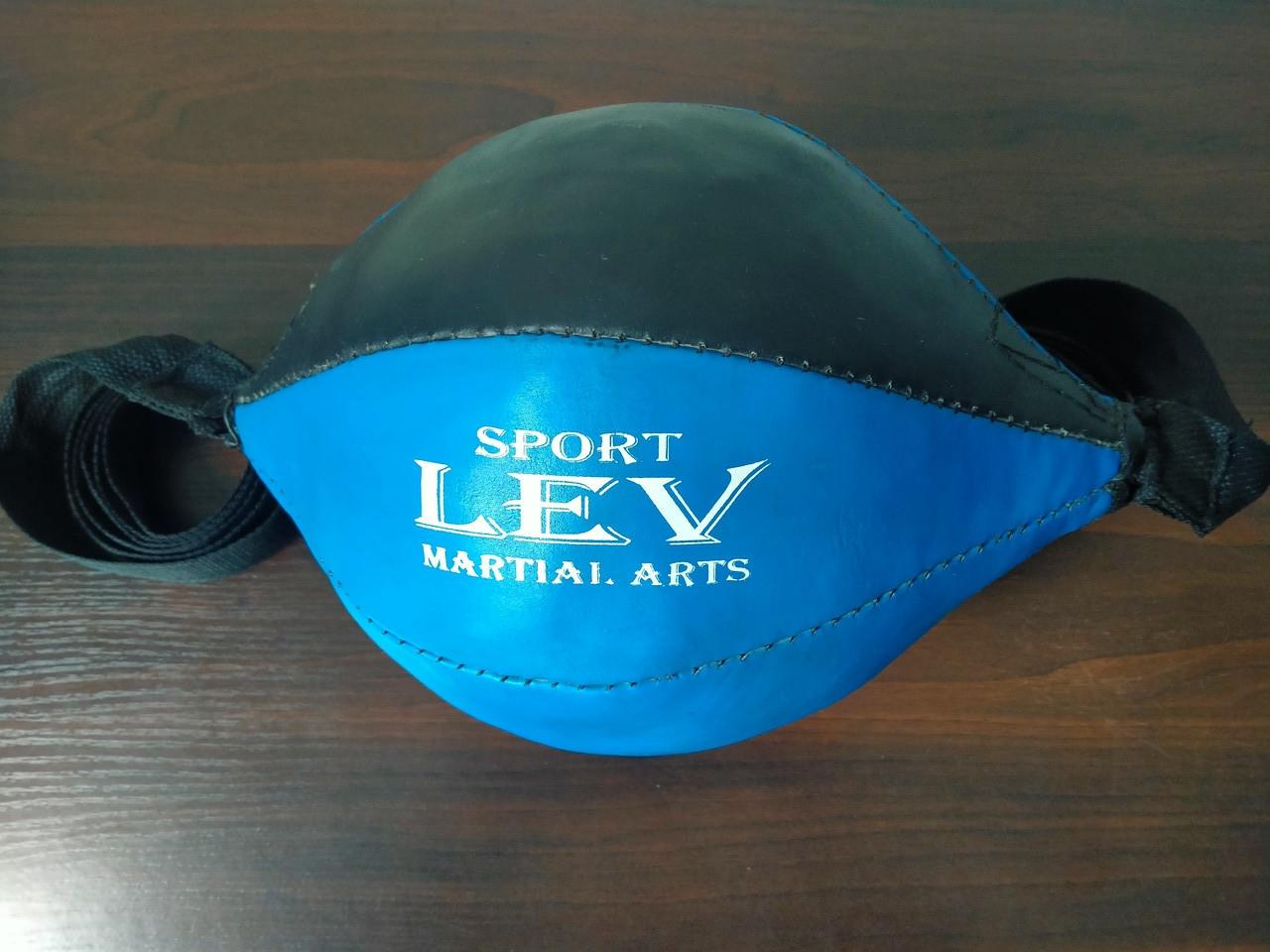 Груша 30х16см боксерська на розтяжках LEV