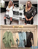 """Сукня жіноча молодіжне на ФЛІСІ , розміри S-L (5кол) """"LATTE"""" купити недорого від прямого постачальника"""