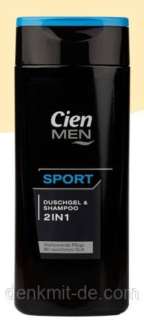 Cien Men 2 in 1 Гель/Шампунь для чоловіків, 300 мл Німеччина