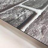 Самоклеюча вінілова плитка для підлоги і стін ПВХ матова 600х600х1,5мм, ціна за 1 шт. СВП-202-М, фото 4