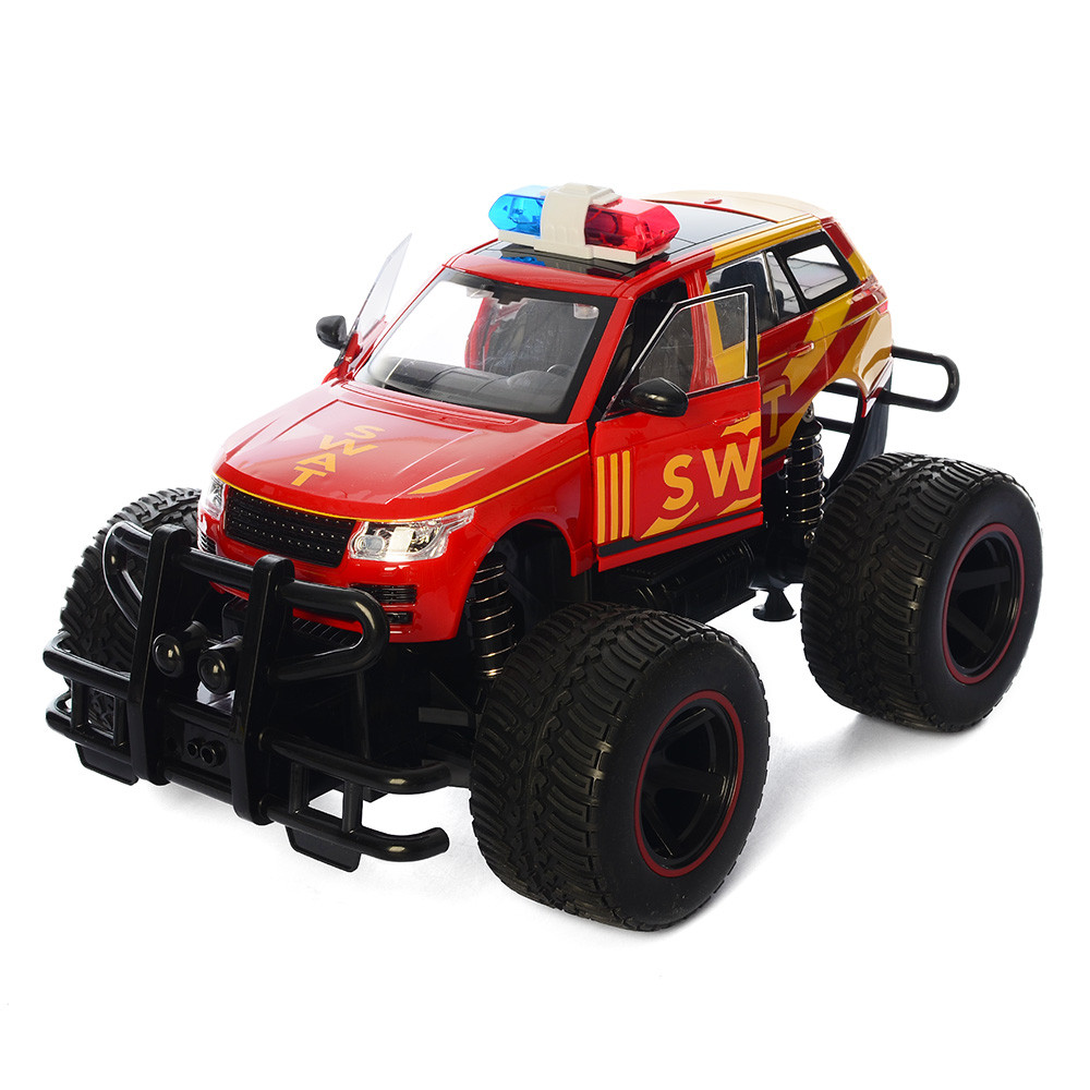 Машинка поліція на радіокеруванні 666-642A Джип іграшковий на пульті