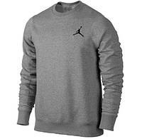 Спортивний костюм Джордан, чоловічий костюм Jordan сірий, трикотажний