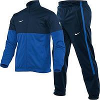 Спортивний костюм Найк, чоловічий костюм Nike, темно-синя кофта, сині штани, темно-сині штани, трикотажний