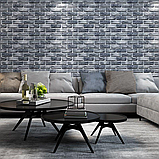 Самоклеюча вінілова плитка для підлоги і стін ПВХ матова 600х600х1,5мм, ціна за 1 шт. СВП-202-М, фото 6