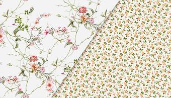 Новинка. Нежные цветочные ткани в стиле прованс.