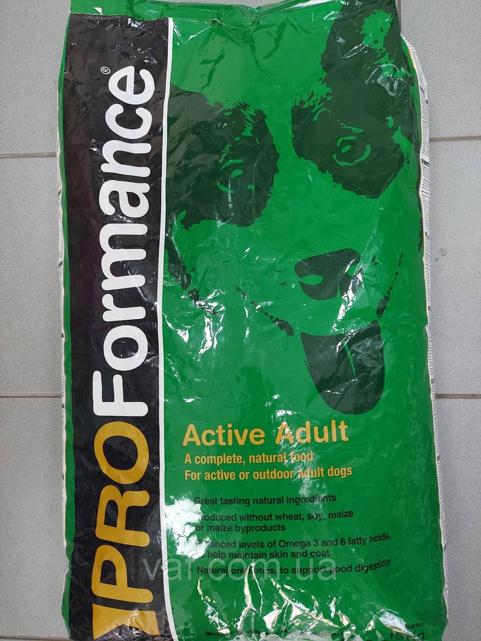 PROFormance Active Adult (Проформанс Актив Эдалт) сухой корм для взрослых собак, с мясом курицы